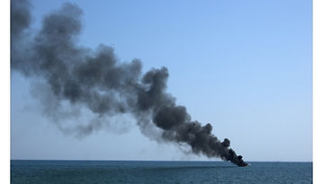 img Fire on PEMEX offshore platform kills five and injures six, two people still missing.j