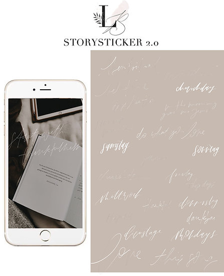 25 Instagram Story Sticker 2.0 Fineline