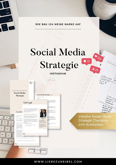Social Media Strategie Guide (Instagram)