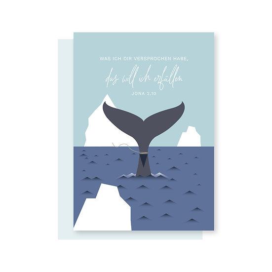 Jona 2,10 Postkarte Kinder