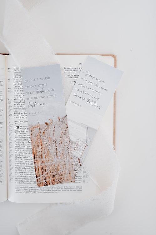 Lesezeichen SET Hoffnung & Ruhe