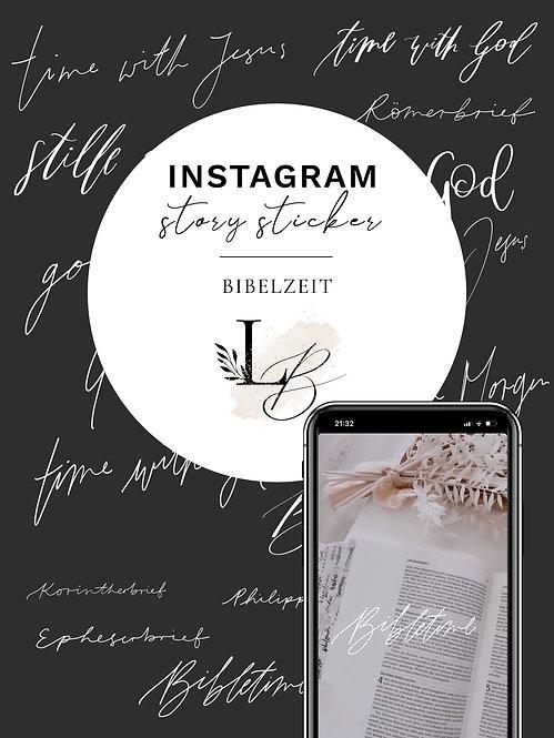 """Instagram Sticker Set """"Bibelzeit"""""""