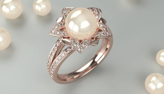 PearlRING 3DCG