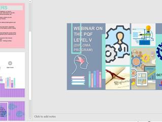 Webinar on the PQF Level or Diploma Program