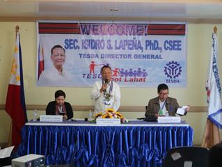 Secretary Isidro Lapeña Advocates Direction Shift Among TESDA-CAR Personnel