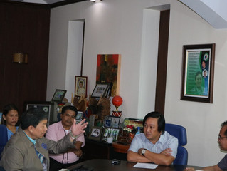 Apayao Governor Elias Bulut Jr. Discusses Development Thrusts  with TESDA-CAR Management Committee
