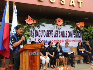 TESDA showcase skills excellence in Baguio-Benguet Skills Competition