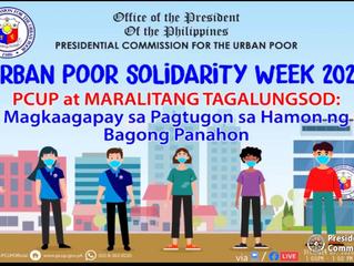 Urban Poor Solidarity Week 2020 December 7, 2020