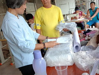 TESDA- CAR contributes to the relief efforts for affected families in Taa