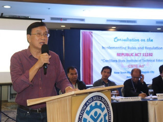 TESDA consults stakeholders on 'Cordillera institute' IRR