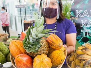 TESDA Institutions promotes local organic produce at SM Baguio Trade Fair