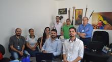 Membros do Instituto CICAA participam de reunião com diretor da Comunidade Cidadania e Vida - COMVID