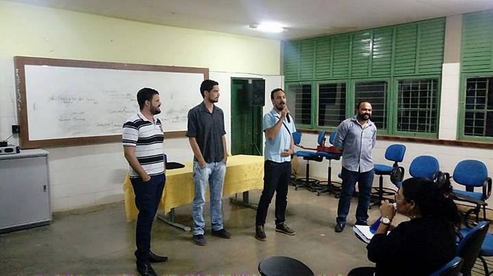 Uma equipe do Instituto CICAA participou da V Semana de Meio Ambiente do Centro Territorial de Educa