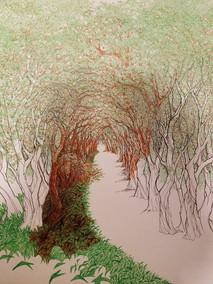 Unfinished Path I