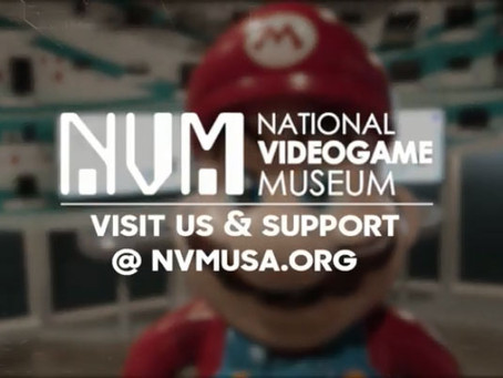 National Videogame Museum 2.0!