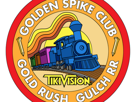 GOLD RUSH Golden Spike Club Patch!