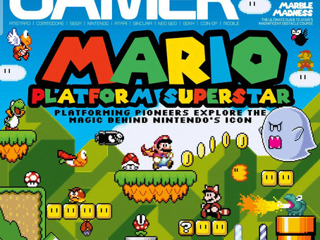 Retro Gamer Magazine Article