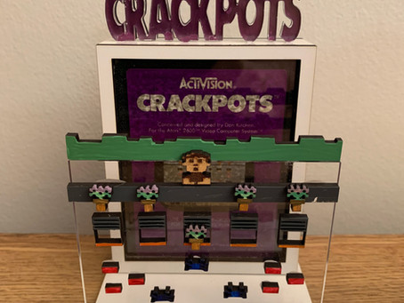 Custom Crackpots Cartridge Display!