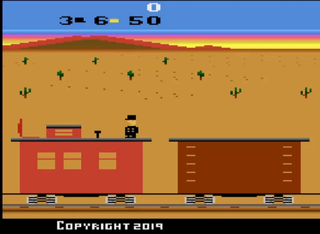 Gold Rush Railroad Cars
