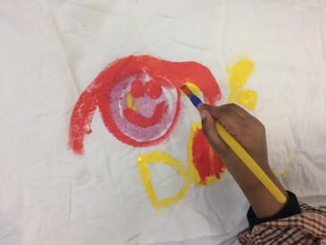 Manu Mau- painting with natural inks