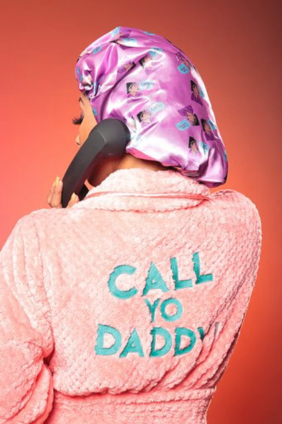 """CALL YO DADDY"" LUX ROBE"