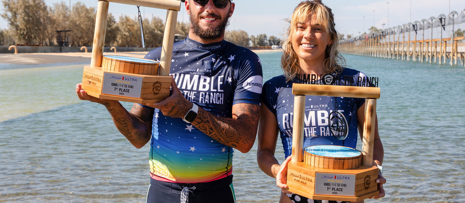 COCO HO WINS RUMBLE AT THE RANCH ALONGSIDE FILIPE TOLEDO