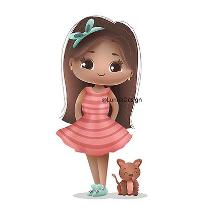 Mascote e cachorrinho