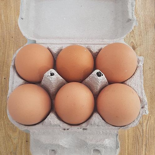 6 Mixed Fresh Free Range Eggs