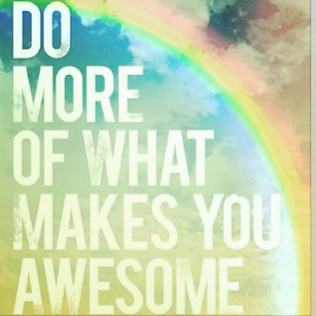 _Faça mais daquilo que te faz sentir incrível_ #positivethinking #light #goodthoughts #awesomeness #