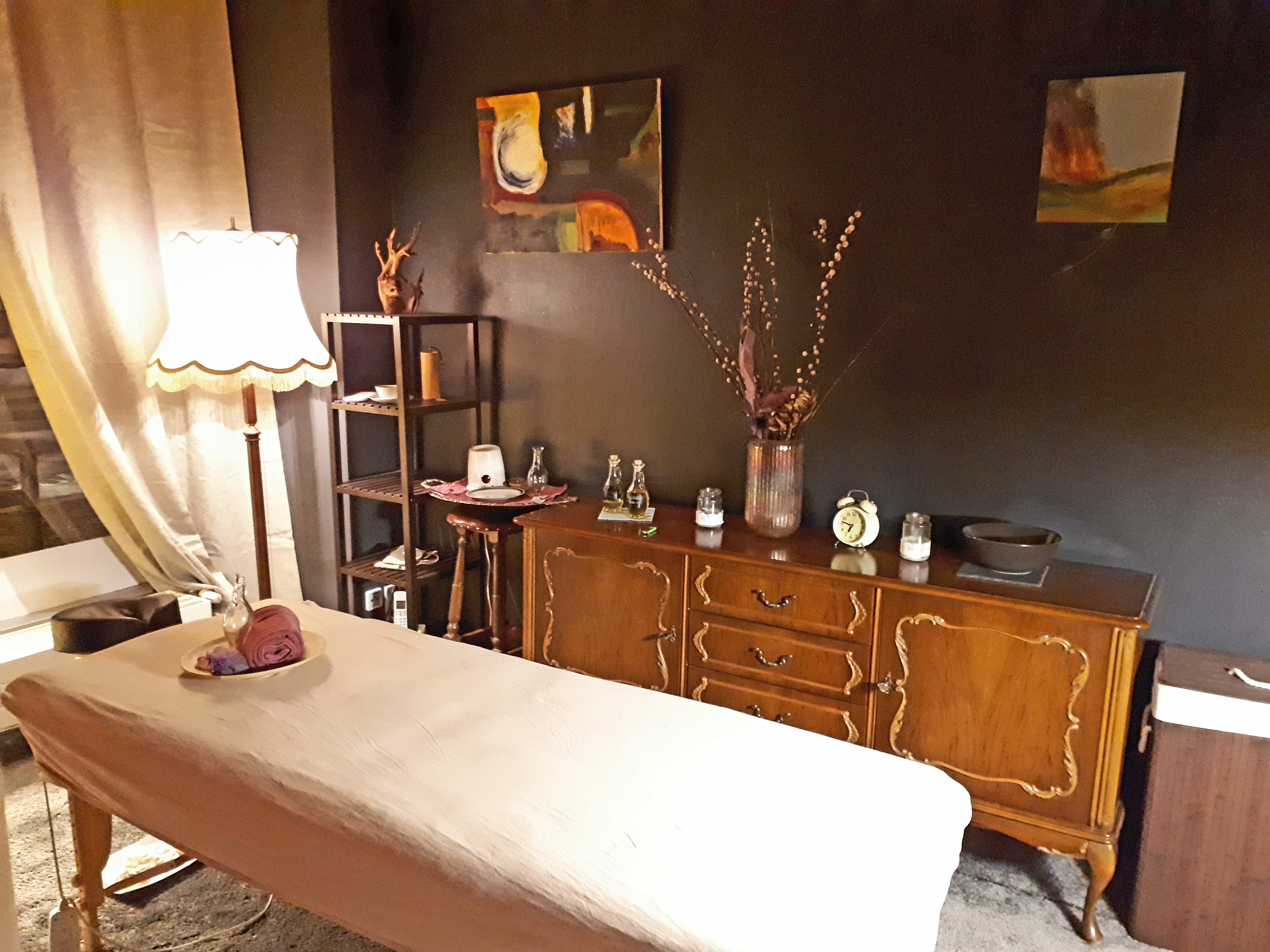 "Our new massage room ""Timeless"""
