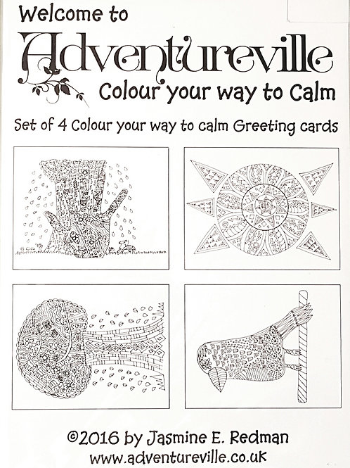 Colouring Greeting Cards