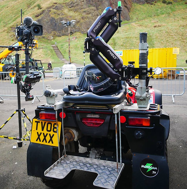 Steadicam tracking buggy