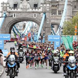London Marathon Camera Motorcycles