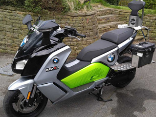 About the new BMW C-Evolution