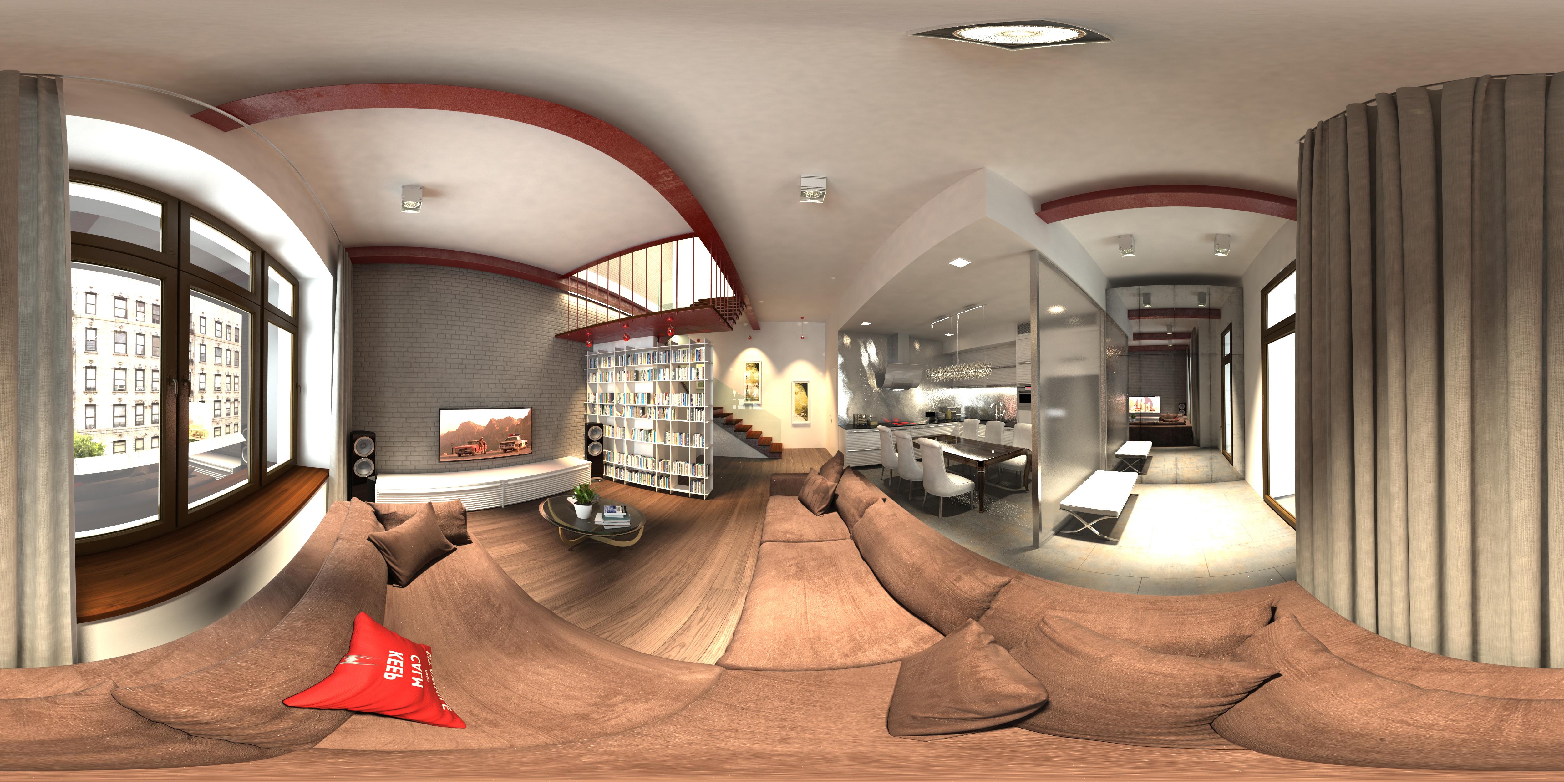 Виртуальный интерьер 9