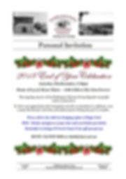 20181201 Personal Invitation Christmas 2