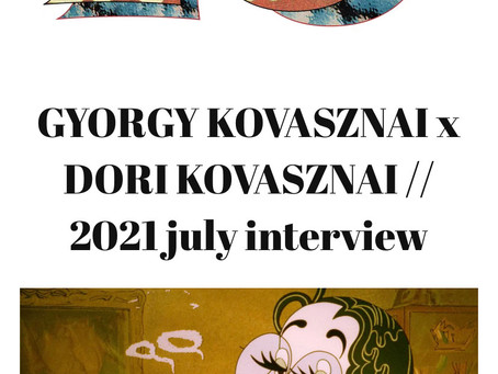 Little Obsessions interview with Gyorgy Kovasznai's daughter