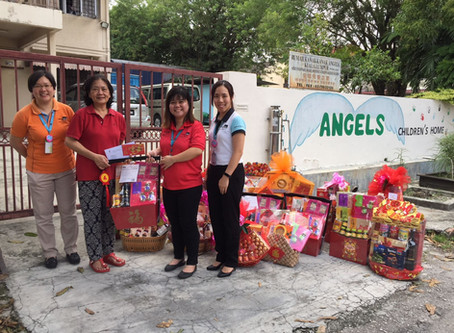 CNY Hampers to Angels Children's Home