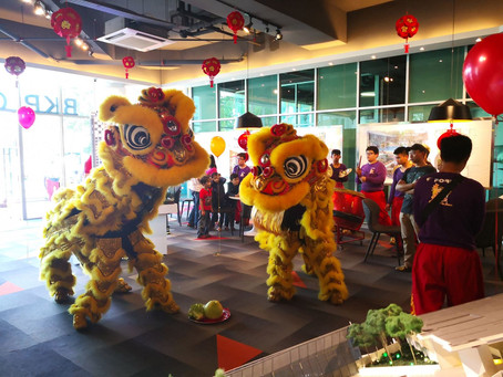Auspicious CNY Celebration at BKP Gallery