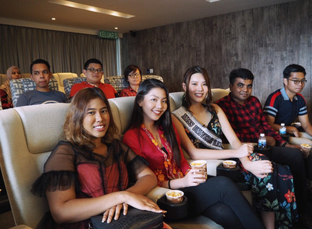 Popcorn & Chill with Miss Universe Malaysia