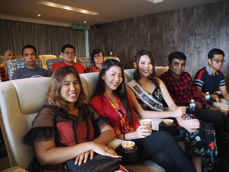 Popcorn & Chill with Miss Universe Malaysia