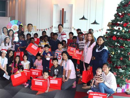 Children Make Their Wishes at BKP