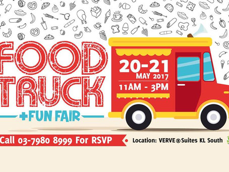 Food Truck & Fun Fair at VERVE® Suites KL South [NEW]