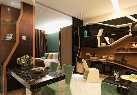 Fully-furnished unit by BKP