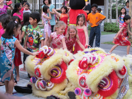 Lion Dance with A Touch of Charity