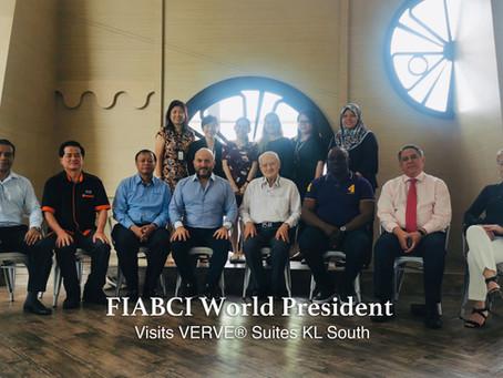 FIABCI World President Visits VERVE® Suites KL South