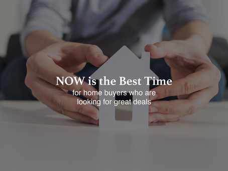 NOW is the Best Time