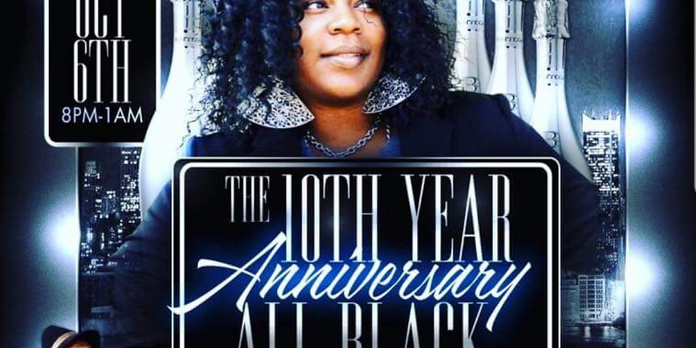 The 10th Year Anniversary All Back Affair & Networth Event