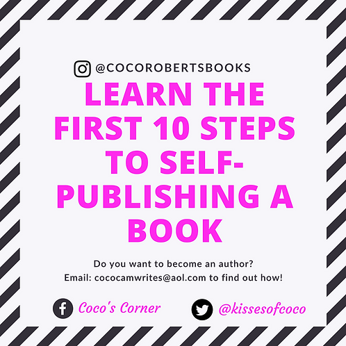 Consulting-The first critical ten steps to self publishing