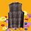 Thumbnail: Snake print long vest